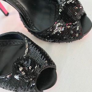 Betsy Johnson Kanata Peep Toe Heels
